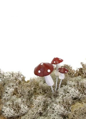 Flugsvamp, 3- pack, konstgjorda svampar-0