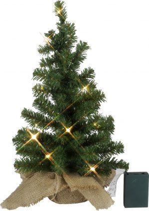 Gran, LED, 10 lampor, 45 cm, konstgjord-6015
