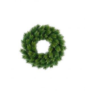 Granriskrans, 28cm, konstgjord, grön,-0