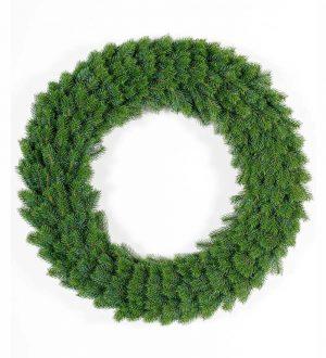 Granriskrans, 100cm, konstgjord, grön-0