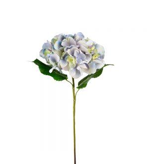 Hortensia,hydrangea, blå, konstgjord blomma-0