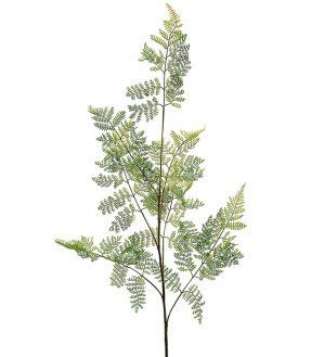 Ormbunksblad, vårgrönt, konstgjort-0