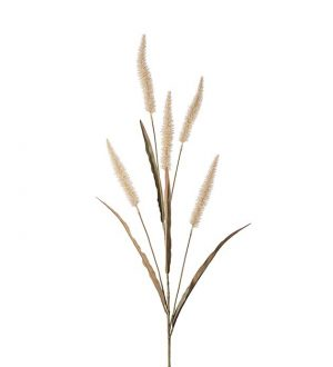 Fjäderborstgräs, Konstgjort gräs, ljust-0
