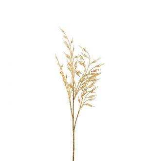 Gräs, ljust halmgula havreliknande ax, konstgjort-0