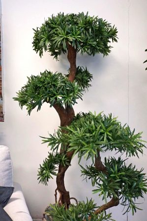Producarpus träd, konstgjort, 135cm-0