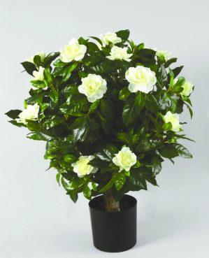 Gardenia, konstgjord blomma, vit-0